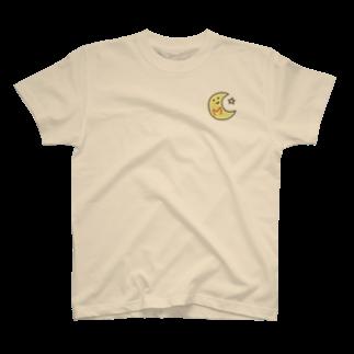 いずちゃんまーけっとのゆるゆるイニシャル M T-shirts