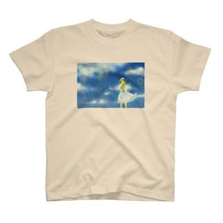 ひまわりとそら T-shirts
