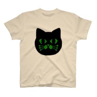 黒猫meow! T-shirts