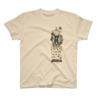 まよなかの時計台 T-shirts