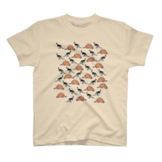 恐竜パーティー T-shirts