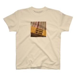 生きているうちから天国や極楽のような楽園に住む T-shirts
