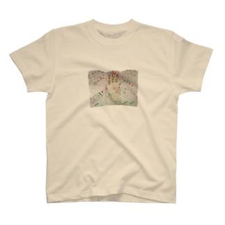 Green屛風 T-shirts