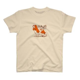キャバリア 落書き№01 T-Shirt