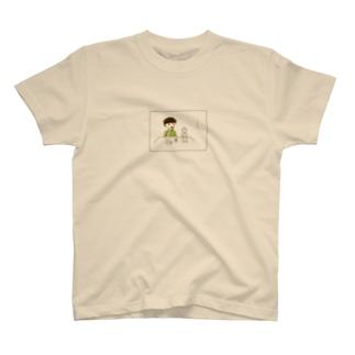 ビールと力士 T-shirts