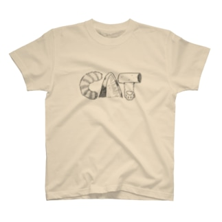 miico-の猫CATロゴ T-shirts