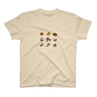 おいしいものシリーズ T-shirts