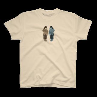 いんとうのgirls T-shirts