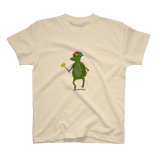 わかガッパっぱ たんぽぽ摘みました T-shirts