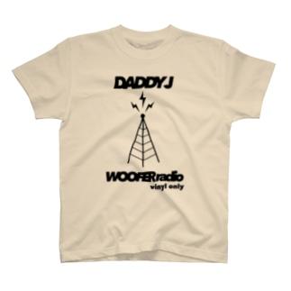 DADDY J WOOFER radio T-shirts