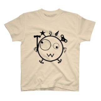 キェキェ(black) T-shirts