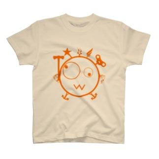 キェキェ(orange) T-shirts