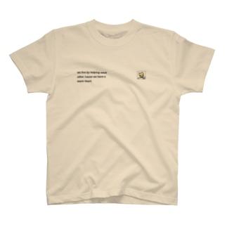 心はあたたかい(ツネキチ) T-shirts