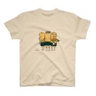 スリースターズ。 T-shirts