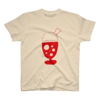 そうだ!ソーダ(いちご) T-shirts