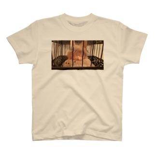 遠くのうさぎ T-shirts