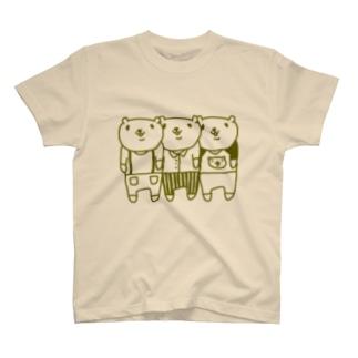 スリーベアー T-shirts