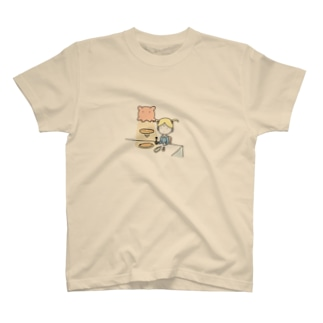 メンダコlovesパンケーキ T-shirts