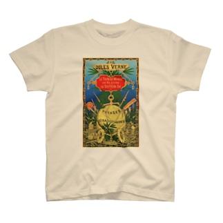 八十日間世界一周<ジュール・ヴェルヌ> T-shirts