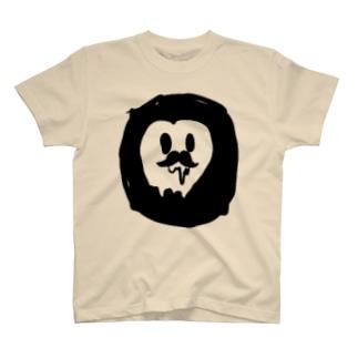 黒いにゅうし君 T-shirts