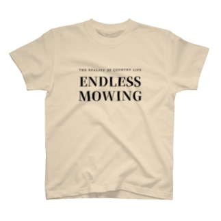ENDLESS MOWING / BKTXT / バックプリント有 T-shirts