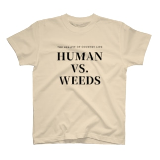 HUMAN VS. WEEDS / BKTXT T-shirts