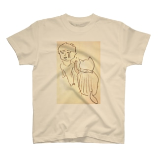 次男とゴマ T-shirts