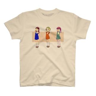 見ない聞かない言わない T-shirts