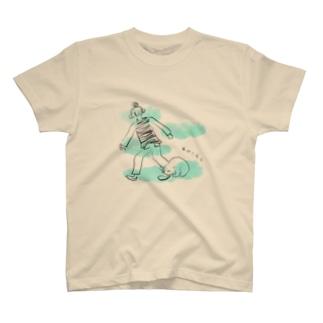 うちのすねこすり T-shirts