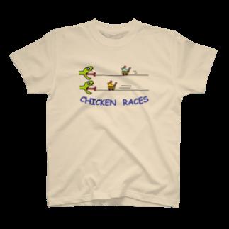 decoppaのチキンレース T-shirts