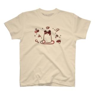 ねずみプリンTシャツ T-shirts