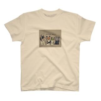 CLOVERHILLのゆるイラストTシャツ T-shirts