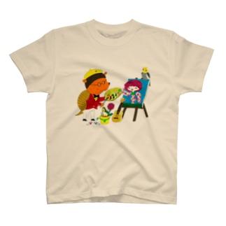 ヨコイマウの世界 T-shirts