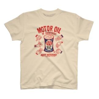 モーターオイル of everybody T-shirts