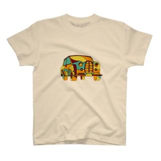 レトロカー T-shirts