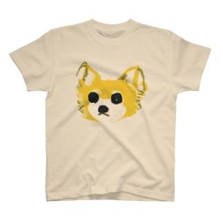 わんこの茶色ちゃん T-shirts