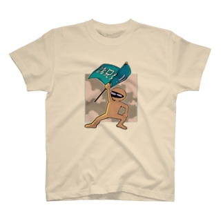 革命的ひじきちゃんT T-shirts