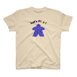 ボードゲームで遊ぼう!(青) T-shirts
