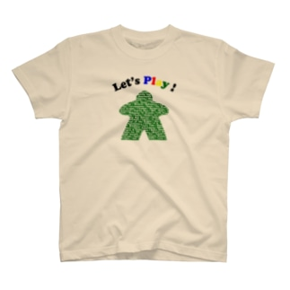 ボードゲームで遊ぼう!(緑) T-shirts