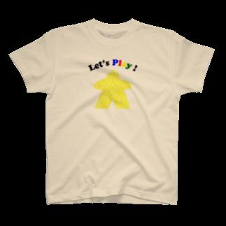 うたたね工房のボードゲームで遊ぼう!(黄) T-shirts