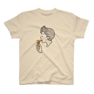 アイスクリーム・ペロンチョ T-shirts