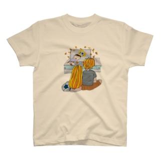 サッカー見るよ T-shirts