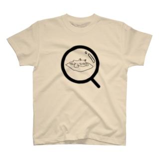 ねこ観察 T-shirts