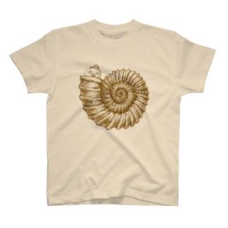 さちおくんと巻貝 T-shirts