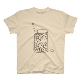 ビンの中にいっぱいちゃん T-shirts