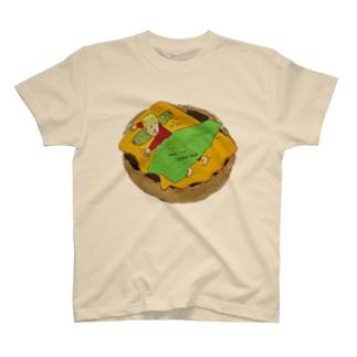 Hamburger sleep T-shirts