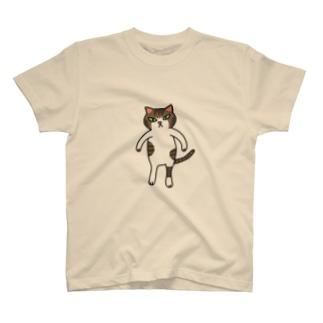新・ねこのごまおはぎ T-shirts