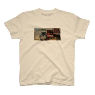 メコン川のボート T-shirts