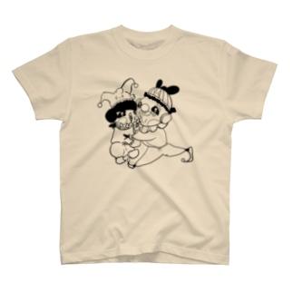 ジョーカーくんとピエロくん T-shirts