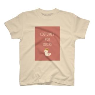アヒルにも衣裳 T-shirts